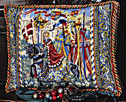 Click for more details of King Arthur (tapestry) by Glorafilia