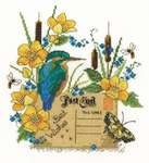 Click for more details of Kingfisher (cross stitch) by DMC Creative