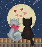Click for more details of Kiti and Tom (cross stitch) by Luca - S