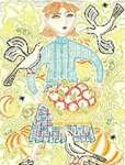 Click for more details of L'Automne (cross-stitch pattern) by Birds of a Feather