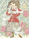 Click for more details of L'Hiver (cross-stitch pattern) by Birds of a Feather