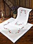 Click for more details of La Belle Epoch Table Covers (embroidery) by Permin of Copenhagen