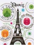 Click for more details of La Tour Eiffel (cross stitch) by Princesse
