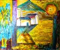 Click for more details of Landscape with Cubism (oil on canvas) by gianbencio