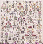 Click for more details of Language of the Flowers (cross stitch) by Rosewood Manor