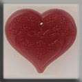 Click for more details of Large Floral Embossed Heart Treasure (beads and treasures) by Mill Hill