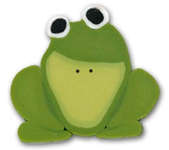 Click for more details of Large Ribbit (beads and treasures) by Just Another Button Company