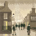 Click for more details of Late Shift (cross stitch) by Phil Smith