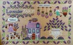 Click for more details of Lavender Farm (cross stitch) by Cuore e Batticuore