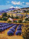 Click for more details of Lavender Fields (tapestry) by Grafitec