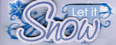 Click for more details of Let it Snow (embellishments) by Paper House Productions