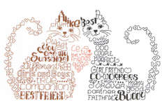 Click for more details of Let's Be Friends (cross stitch) by Imaginating