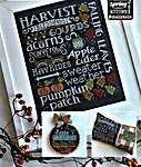 Click for more details of Let's Talk Autumn (cross stitch) by Hands On Design