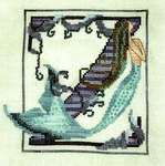 Click for more details of Letters from Mermaids - Z (cross stitch) by Nora Corbett