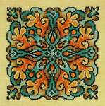 Click for more details of Lichen (cross stitch) by Ink Circles
