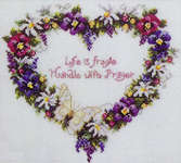 Click for more details of Life is Fragile (cross stitch) by Stoney Creek