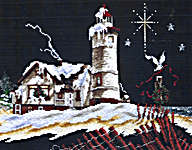 Click for more details of Lighthouse of Christmas III (cross stitch) by Stoney Creek