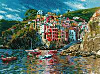 Click for more details of Liguria (cross stitch) by Riolis