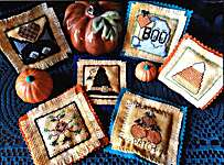 Click for more details of Lil Stitches October (cross stitch) by Carolyn Manning