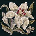 Click for more details of Lily Mini Kit (tapestry) by Glorafilia