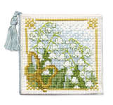 Click for more details of Lily of the Valley Needlecase (cross stitch) by Textile Heritage