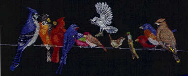 Click for more details of Line Dancing (cross-stitch pattern) by StitchWorld