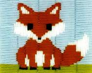Click for more details of Little Fox (long-stitch) by Vervaco