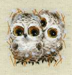 Click for more details of Little Owls (cross stitch) by Riolis