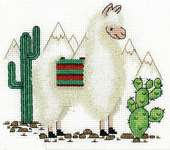 Click for more details of Llama (cross stitch) by Panna
