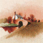 Click for more details of Lock Keepers Cottage (cross-stitch kit) by John Clayton