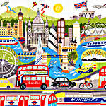 Click for more details of London (cross-stitch kit) by Bothy Threads