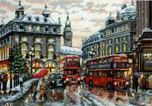 Click for more details of London (cross stitch) by Merejka