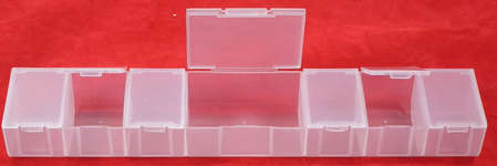 Click for more details of Long Bead Storage Box (tools) by Siesta Frames