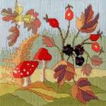 Click for more details of Long Stitch Seasons : Autumn (long-stitch) by Rose Swalwell