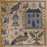Click for more details of Loose Feathers - All the Hills Echoed (cross stitch) by Blackbird Designs
