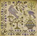 Click for more details of Loose Feathers - It's Spring Fever (cross stitch) by Blackbird Designs