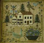 Click for more details of Loose Feathers - Pleasure Of The Fleeting Year (cross stitch) by Blackbird Designs