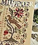 Click for more details of Loose Feathers - Winter (cross stitch) by Blackbird Designs