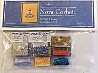Click for more details of Lotus Embellishment Pack (beads and treasures) by Nora Corbett