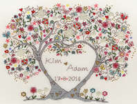 Click for more details of Love Blossoms (cross-stitch kit) by Bothy Threads