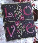 Click for more details of Love (cross-stitch pattern) by New York Dreamer