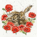 Click for more details of Love Is In The Hare (cross stitch) by Bothy Threads