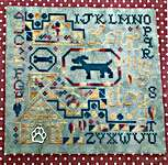 Click for more details of Love My Dog Quaker (cross stitch) by Romy's Creations