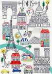 Click for more details of Love Paris (cross stitch) by Bothy Threads