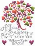 Click for more details of Love Story Wedding (cross stitch) by Imaginating
