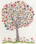 Click for more details of Love Tree (cross stitch) by Bothy Threads