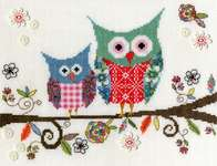 Click for more details of Love Woo (cross-stitch kit) by Bothy Threads
