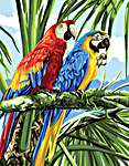 Click for more details of Macaws (tapestry) by Royal Paris