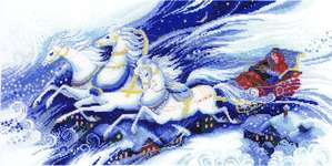 Click for more details of Magical Sleigh Ride (cross stitch) by Riolis