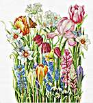 Click for more details of March Bouquet (cross stitch) by Luca - S